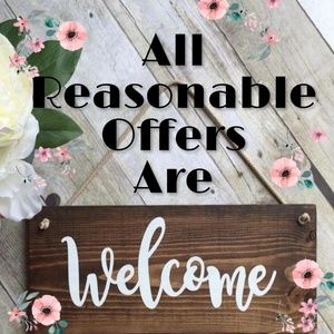 🌸ALL REASONABLE OFFERS ARE WELCOME🌸